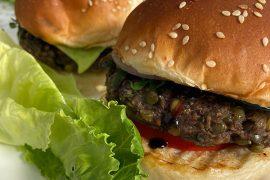 המבורגר עדשים ופטריות הכי טעים בעולם