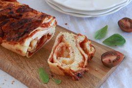 עוגה מלוחה: קראנץ שמרים פיצה