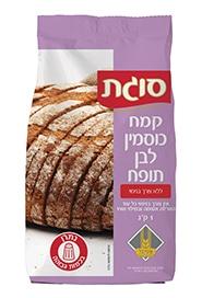 קמח כוסמין לבן תופח ללא צורך בניפוי